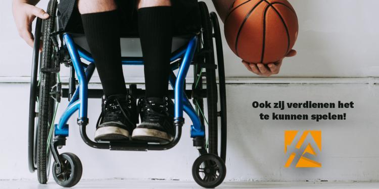 Speeltoestellen voor kinderen met een rolstoel